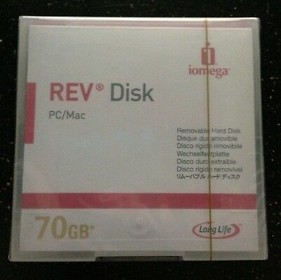Iomega Rev 70gb Disk Pc/mac