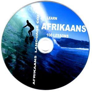 Afrikaans Language Course CD disc