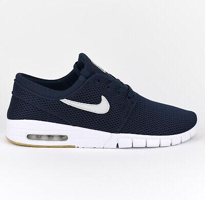 Nike Stefan Janoski Max SB Herren Skate Sneaker Schuhe Neu Obsidian 631303-407 ()