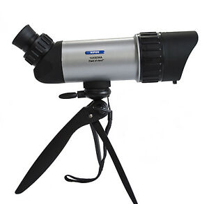 10x50 spotting scope. Dual focus & wide angle. Bird watching, wildlife & nature
