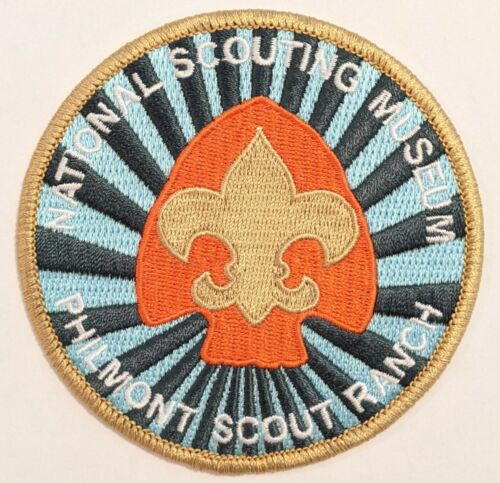 National Scouting Museum patch at Philmont Scout Ranch Boy Scouts