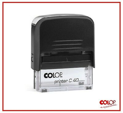 Colop Printer Self Inking Rubber T Garage -mmmm-your Personal Logo Only--mm