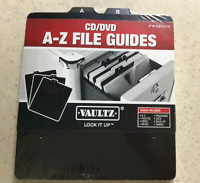 Cddvd A-z File Guides 5x512