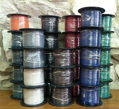500 Ft Tffntewn Wire. 16 Awg Stranded 600 Volt. Made In Usa.  11 Colors Avail