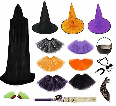HALLOWEEN WITCH FANCY DRESS ACCESSORIES Mask Accessory Adult Kids Costume Lot UK](Child Halloween Costumes Uk)