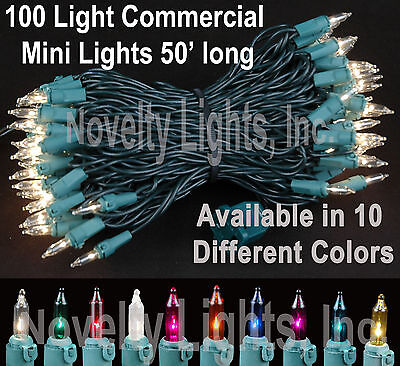 50 Foot Outdoor Christmas Patio Mini Light ...