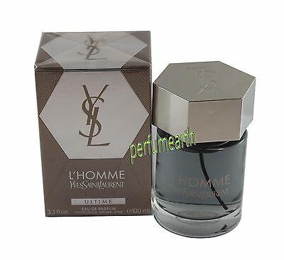Yves Saint Laurent L'Homme Ultime Eau De Parfum  3.4/3.3 fl.oz Men New In Box