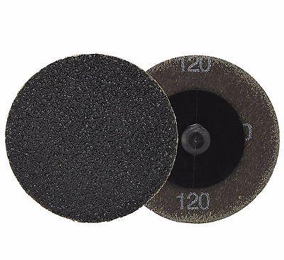 Neiko 11179a - 25 Piece 2 120 Grit Quick Change Silicon Carbide Sanding Discs