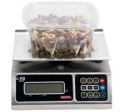 New Tor Rey L-eq-510 10lb Digital Price Computing Food Scale - Legal For Trade