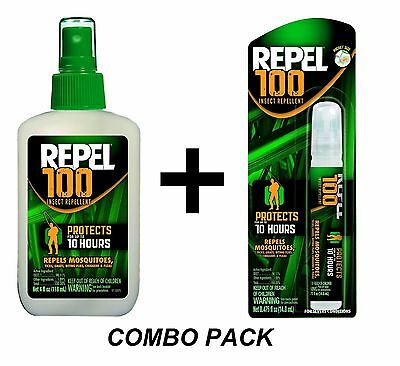 Give one the creeps 100 Insect Mosquito Repellent COMBO PACK Sprays 98% DEET 94108 & 94098