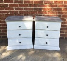 2 x BEDSIDE DRAWERS Stratham Capel Area Preview