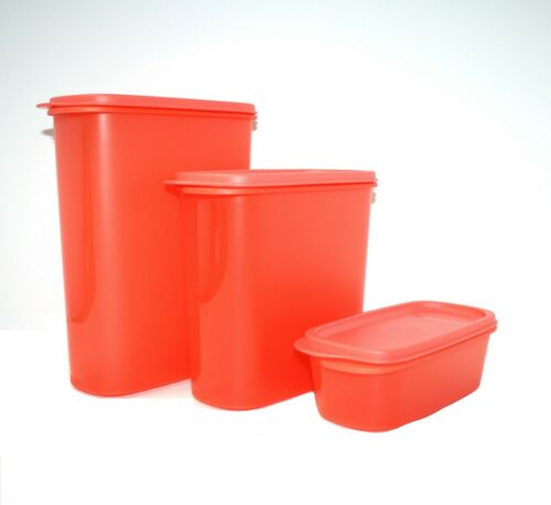 NEW Tupperware Easy Pantry Containers - Modular Mates Storage - Set of 3