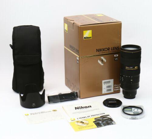 Nikon AF-S NIKKOR 70-200mm f/2.8G ED VR II Lens (USA model) - Lightly used