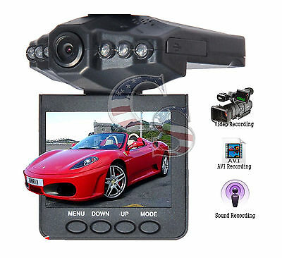 New 2 5\ Full HD 1080P Car DVR Vehicle Camera Video Recorder Dash Cam YKS