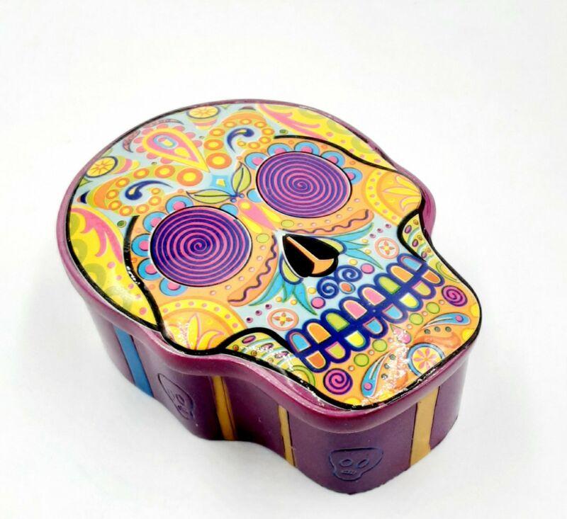 Dod sugar skull box multicolor #2172