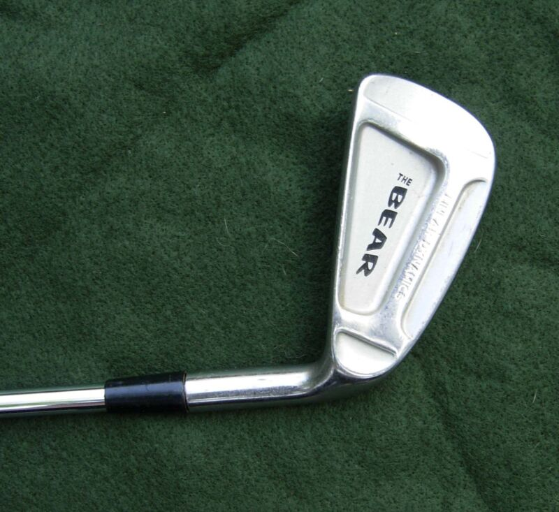 "Nicklaus The Bear Linear Dynamics 6 Iron Steel ""Crank Shaft"" shaft"