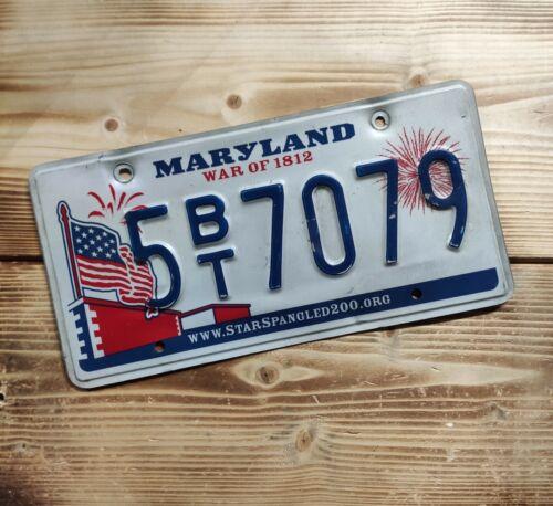 USA Nummernschild/Kennzeichen/license plate/US car/Harley/Deco * Maryland *