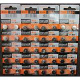 40 Fresh Genuine Maxell LR44 (A76) 357 1.5V Alkaline Coin Cell Button Batteries