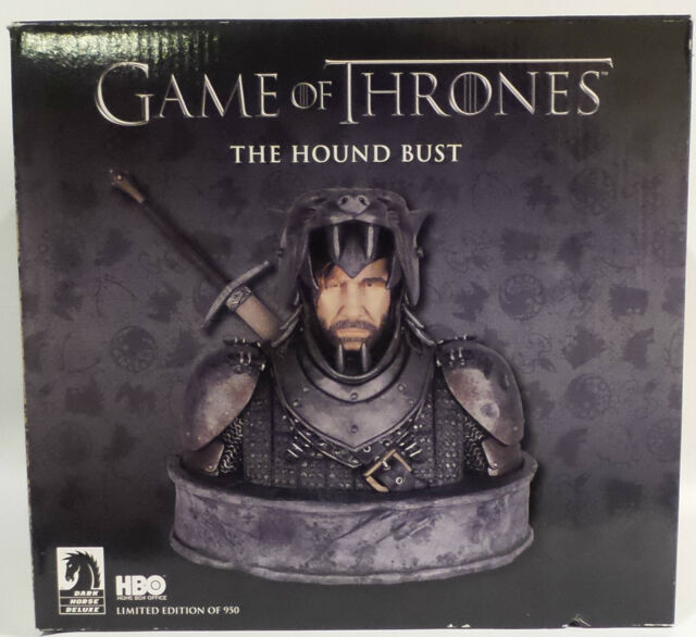 GAME OF THRONES : THE HOUND BUST MADE BY DARK HORSE. NUMBER 559 OR 950 (TK)