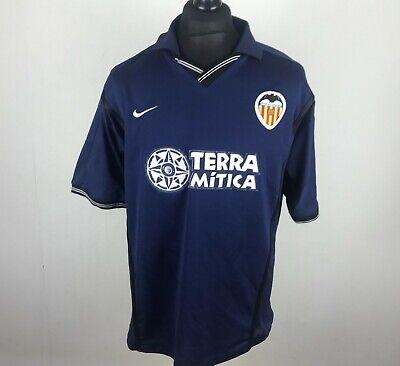 Valencia 2000/2001 Away Replica Football Shirt Men's Size L Soccer Jersey Spain