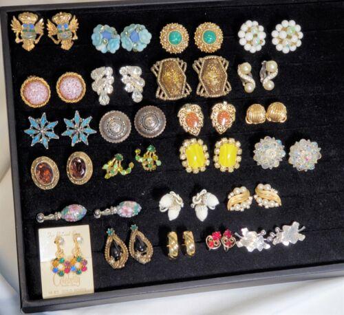 Vintage Jewelry Earring Lot