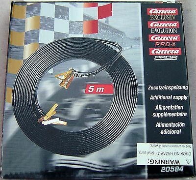 Used, CARRERA 20584 5M JUMPER CABLES NEW IN PACKAGE 1/24 1/32 SLOT CAR TRACK for sale  Philadelphia