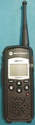 Mint Motorola Dtr650 Digital On Site Portable 2 Way Radio 900mhz Walkie Talkie
