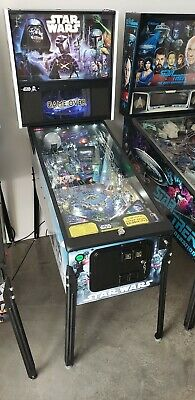 Stern Star Wars Premium Pinball Machine - Home Use Only & Low Plays