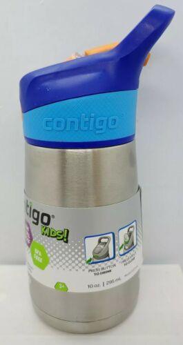 Contigo 10 oz. Kids Striker Flip Chill Stainless Steel Water