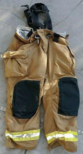 Sperian 46 30 Turnout Bunker Pants Fire Fighting FireFighter Gear RIT Harness