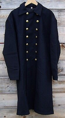 Civil war union federal general double breasted frock coat pleated   42