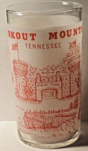 Lookout Mountain Tennessee Souvenir Glass