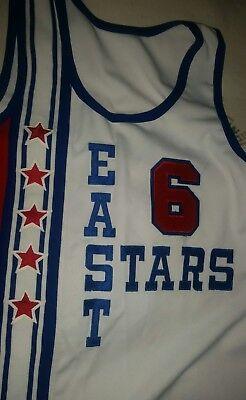 best service c816a 60e02 Julius Erving 6 Mitchell Ness All-Star Basketball Jersey Hardwood Classic  NBA
