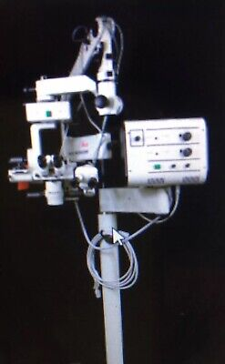 Leica  Wild M690 Xy 0-180 Bino Ophthalmic Surgical Microscope Biomed Tested