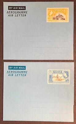 Trinidad & Tobago FG #7 & 8 Air Letters Mint
