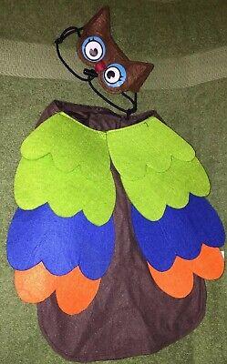 Dog Owl Costume (Dog Costume - Size Medium -)