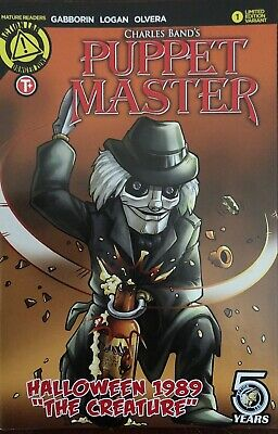 PUPPET MASTER ANNUAL #2 1989 HALLOWEEN  2016 NEW BACK ISSUE](Take Back Halloween)