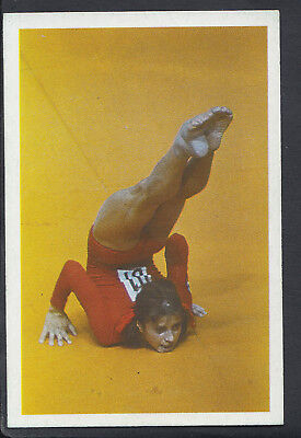 A Question of Sport 1986 Game Card - Olga Korbut - Gymnastics (T553)