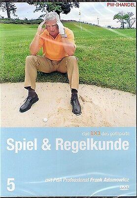 Das 1x1 des Golfsports - Spiel & Regelkunde mit PGA Professiona Frank...