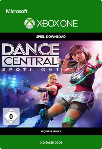 Dance Central Spotlight Xbox One Kinect Spiel - Microsoft Digital Download Code