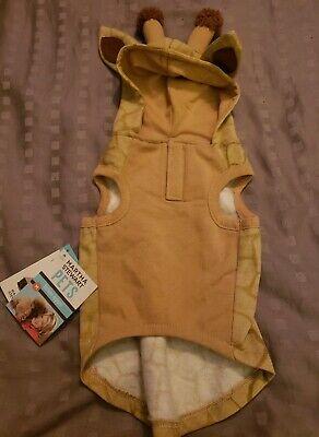 NEW Halloween Martha Stewart Pet Dog GIRAFFE Hoodie - Martha Stewart Kostüm