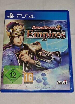 PS4 Spiel - Dynasty Warriors 8 Empires - Guter Zustand KOMPLETT