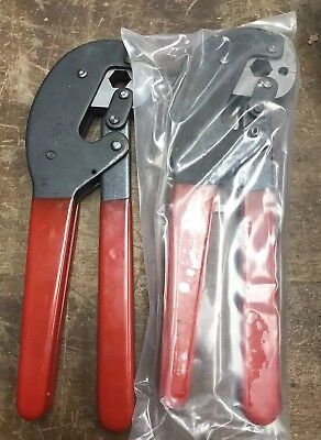 Crimp Tool Kit Crimper Plier Lot Of 2