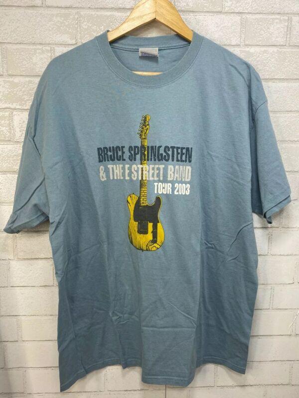 Bruce Springsteen Summer Tour 2003 T Shirt Size XL