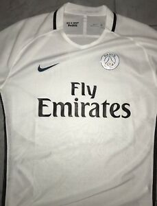 Nike soccer jersey PSG white. Player's version