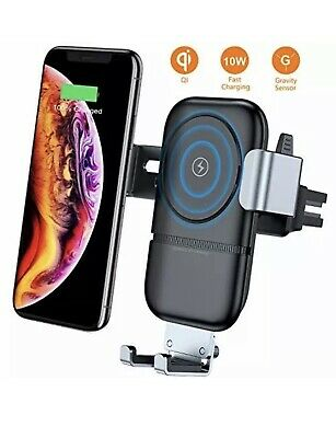 Best VANMASS Wireless Car Charger Auto-Clamping Adjustable Gravity Car