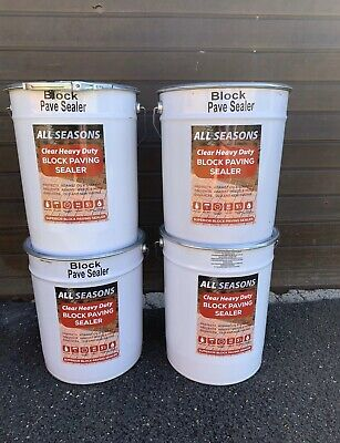 Wet Look Driveway Sealer Drive Sealant *block Paving Patio Selaer 20 LTR Resin*