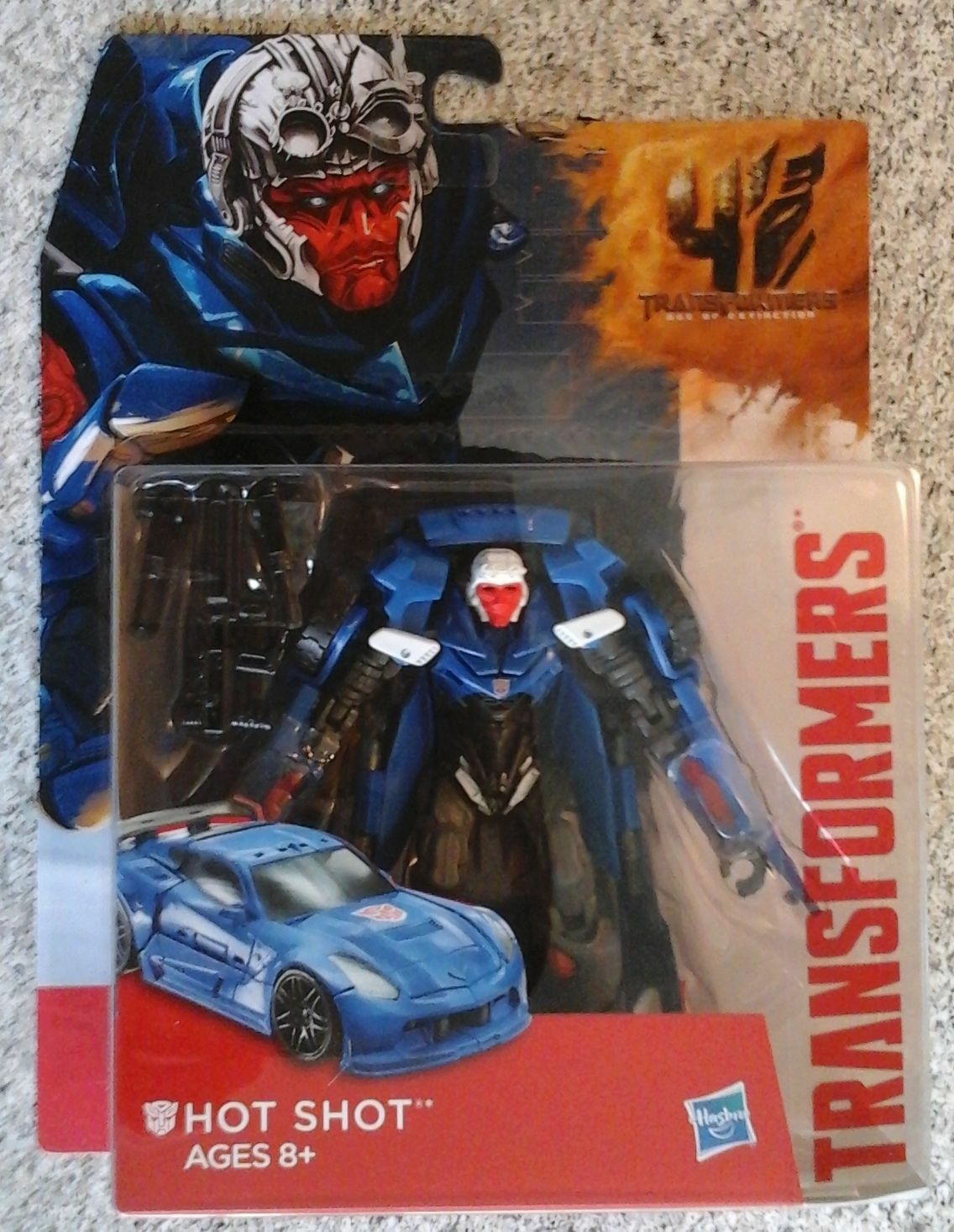 Transformers AOE *HOT SHOT* Deluxe Class Movie Age of Extinc
