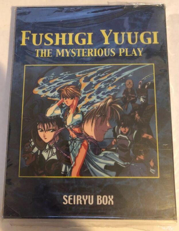 FUSHIGI YUGI THE MYSTERIOUS PLAY SEIRYU BOX 3 Disc DVD SET Anime Cartoon Rare !