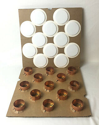 X12 Reliable Rasco Cover Plates G4 G4a G5 White Cleanroom Fire Sprinklers Head